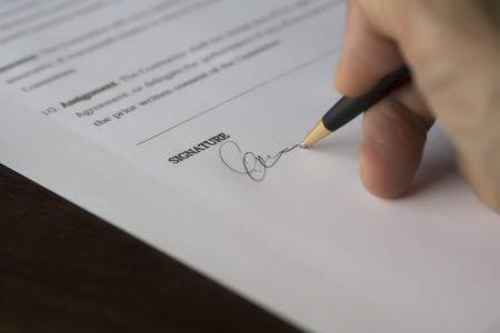 Ondertekend document